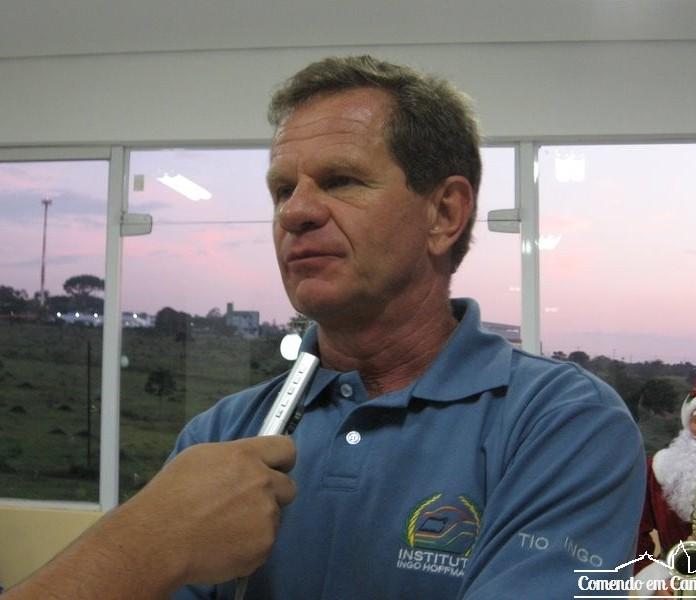 Ingo Hoffmann, presidente e ex-piloto de automobilismo