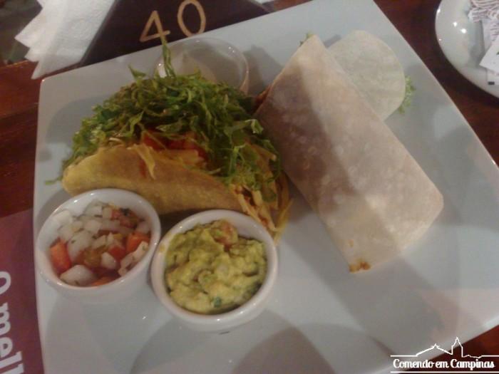 Burritos e Tacos