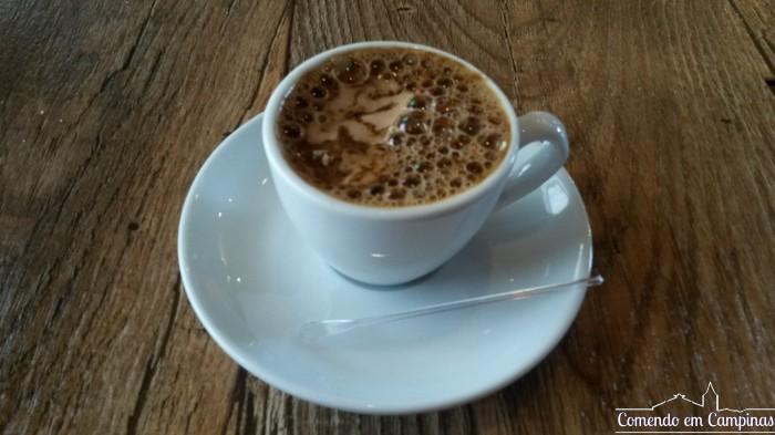 Cappuccino, para fechar com chave de ouro!